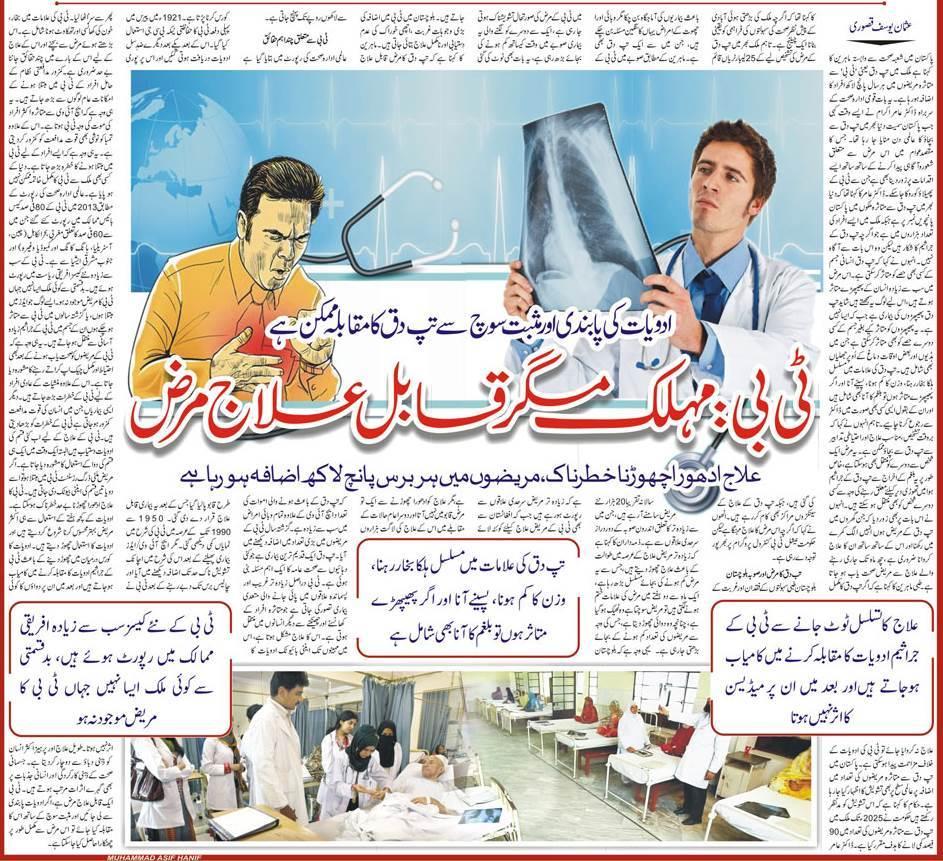 Tuberculosis TB Symptoms, Precautions & Treatment (Urdu & English)