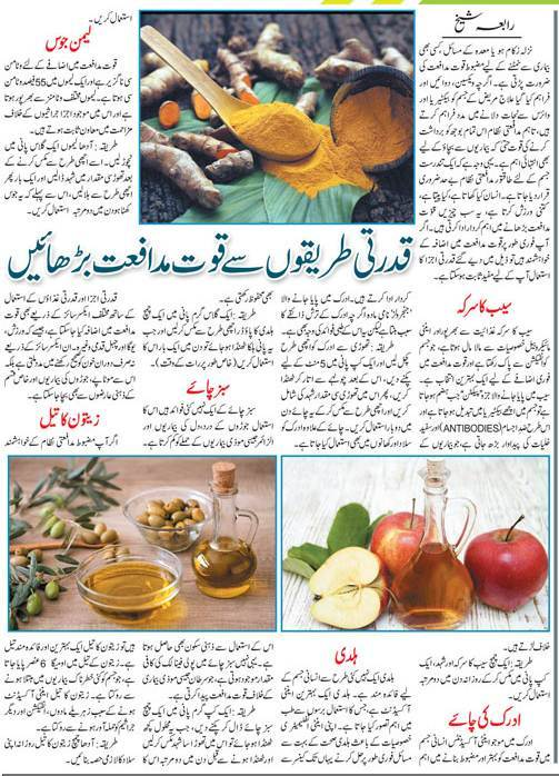 How to Boost Your Immune System Naturally? Health Tips (Urdu-English)