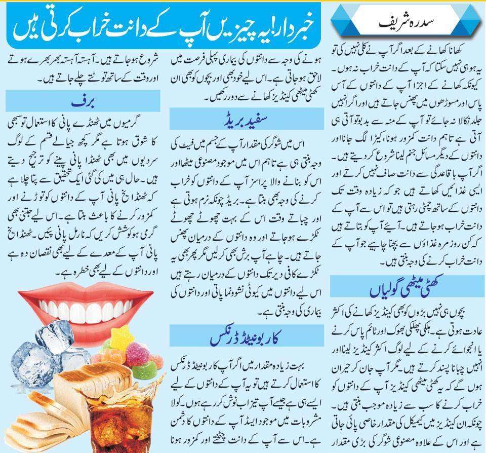 Tips To Keep Your Teeth & Gums Healthy (Urdu-English)