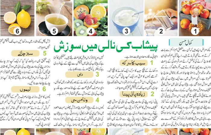 Urinary Tract Infection UTI Treatment Tips in Urdu & English