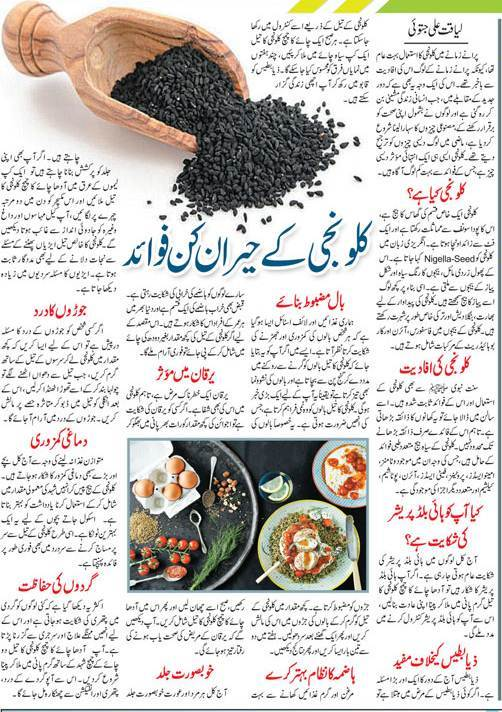Top 10 Health Benefits of Nigella Sativa or Kalonji (Black Seeds) Urdu-English