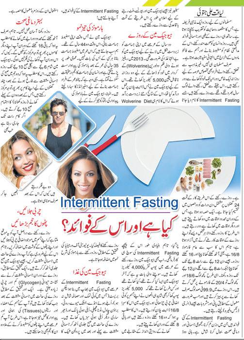 Intermittent Fasting Introduction & Health Benefits (Urdu-English)